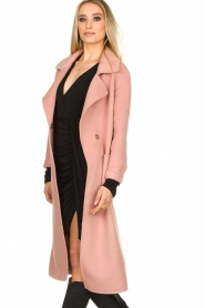 Clairval |  Super soft coat Carole | pink  | Picture 7