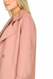 Clairval |  Super soft coat Carole | pink  | Picture 6