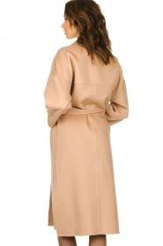 Clairval |  Wool wrap coat Lou | camel  | Picture 6