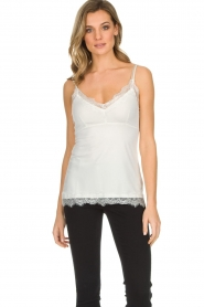 Set |  Cami with lace Chenna | white  | Picture 2