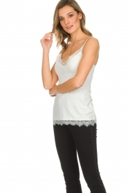 Set |  Cami with lace Chenna | white  | Picture 3