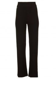 Lune Active |  Flared sports pants Forest | black  | Picture 1