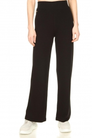 Lune Active |  Flared sports pants Forest | black  | Picture 2