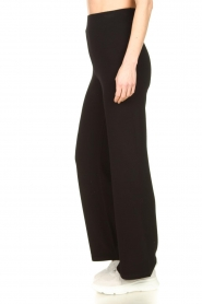 Lune Active |  Flared sports pants Forest | black  | Picture 4