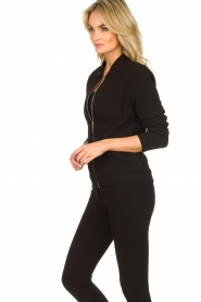 Lune Active |  Sports jacket Moon | black  | Picture 6