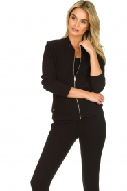 Lune Active |  Sports jacket Moon | black  | Picture 4
