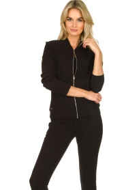 Lune Active |  Sports jacket Moon | black  | Picture 2