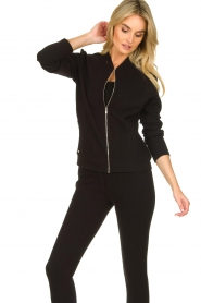 Lune Active |  Sports jacket Moon | black  | Picture 5