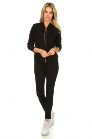 Lune Active |  Sports jacket Moon | black  | Picture 3