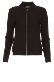 Lune Active |  Sports jacket Moon | black  | Picture 1