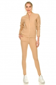 Lune Active |  Sports jacket Moon | camel  | Picture 3
