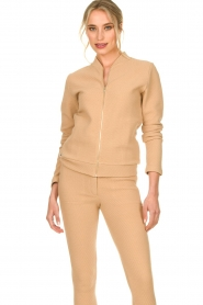 Lune Active |  Sports jacket Moon | camel  | Picture 2