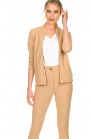 Lune Active |  Sports jacket Moon | camel  | Picture 6
