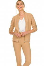 Lune Active |  Sports jacket Moon | camel  | Picture 7