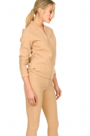 Lune Active |  Sports jacket Moon | camel  | Picture 4