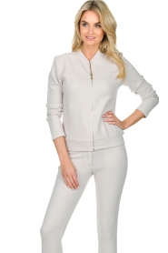 Lune Active |  Sports jacket Moon | grey  | Picture 2