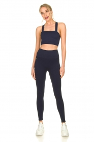 Lune Active |  Rib leggings Luna | blue  | Picture 3