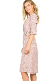 JC Sophie |  Printed dress Dahlia | pink  | Picture 5