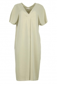 JC Sophie |  Modal midi dress Drew | green  | Picture 1