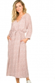JC Sophie |  Printed maxi dress Dasia | pink  | Picture 4