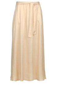 JC Sophie |  Belted maxi skirt Darlien | beige  | Picture 1