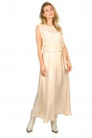JC Sophie |  Belted maxi skirt Darlien | beige  | Picture 4