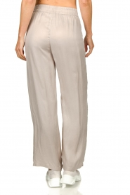 JC Sophie |  Belted wide leg trousers Darwin | grey  | Picture 6