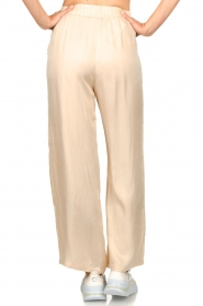 JC Sophie |  Belted wide leg trousers Darwin | beige  | Picture 6