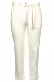 JC Sophie |  Linen pants Debora | white  | Picture 1
