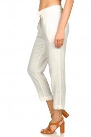 JC Sophie |  Linen pants Debora | white  | Picture 5