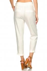 JC Sophie |  Linen pants Debora | white  | Picture 6