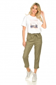 JC Sophie    Linen pants Debora   green    Picture 3