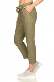 JC Sophie    Linen pants Debora   green    Picture 5
