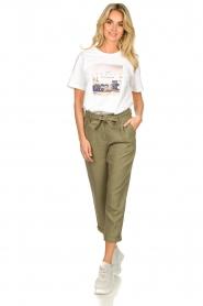 JC Sophie    Linen pants Debora   green    Picture 2