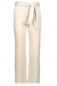 JC Sophie |  Modal pants with belt Dream | beige  | Picture 1