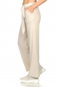 JC Sophie |  Modal pants with belt Dream | beige  | Picture 5