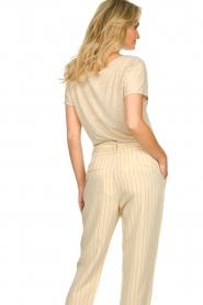 JC Sophie |  Linen T-shirt Dora | beige  | Picture 6