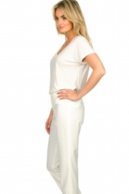 JC Sophie |  Tencell top Dutchess | white  | Picture 5
