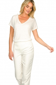 JC Sophie |  Tencell top Dutchess | white  | Picture 4