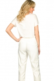 JC Sophie |  Tencell top Dutchess | white  | Picture 6