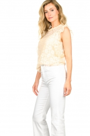 JC Sophie |  Lace top Denise | Beige  | Picture 5