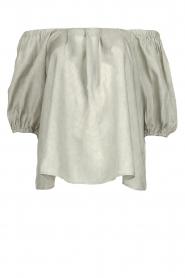 JC Sophie |  Off-shoulder top Delight | grey  | Picture 1