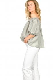 JC Sophie |  Off-shoulder top Delight | grey  | Picture 6
