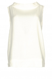 JC Sophie |  Sleeveless top Dee | white  | Picture 1