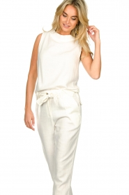 JC Sophie |  Sleeveless top Dee | white  | Picture 2