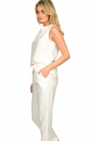 JC Sophie |  Sleeveless top Dee | white  | Picture 5