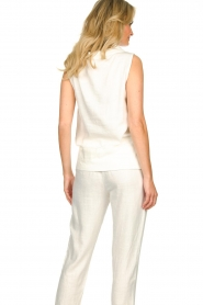 JC Sophie |  Sleeveless top Dee | white  | Picture 6