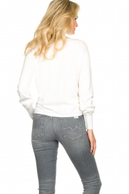 JC Sophie |  Tie knot sweater Dorothy | white  | Picture 6