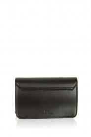 ELISABETTA FRANCHI |  Shoulder bag with golden logo Christy | black  | Picture 4