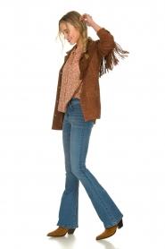 Ibana |  Suede fringe jacket Geisha | camel  | Picture 3